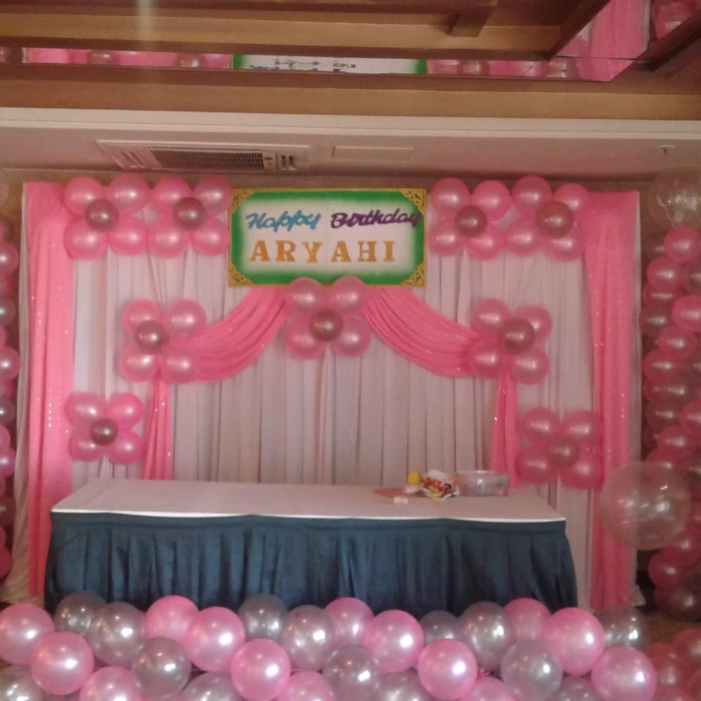 balloon decoration with screen Hiibangalorecom