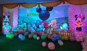 Mickey mouse theme birthday party organisers