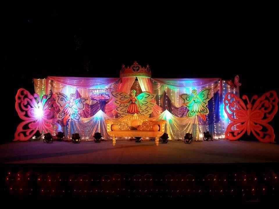 princess theme 3d decoration bangalore