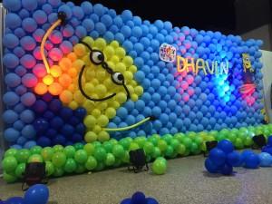 awewsome minions theme birthday party decoration