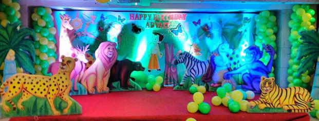 jungle theme birthday decoration Hiibangalorecom