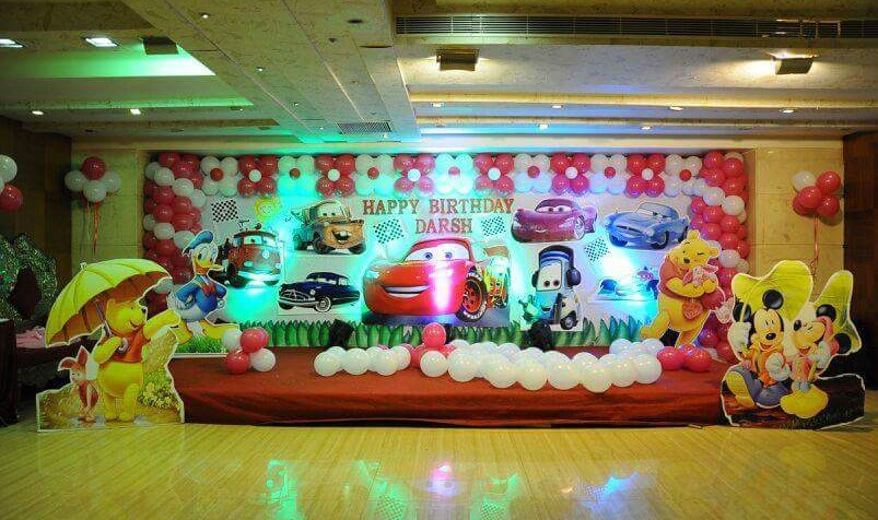 cars theme balloon deoration bangalore
