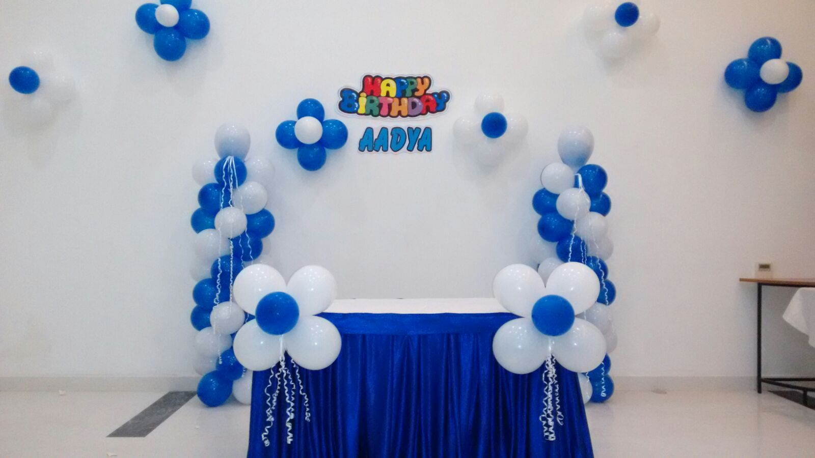 Basic balloon decorations for Balloon birthday decoration