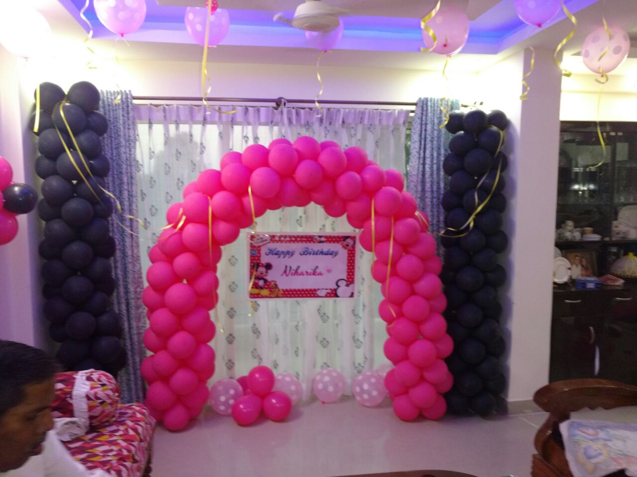 simple baloon decoration