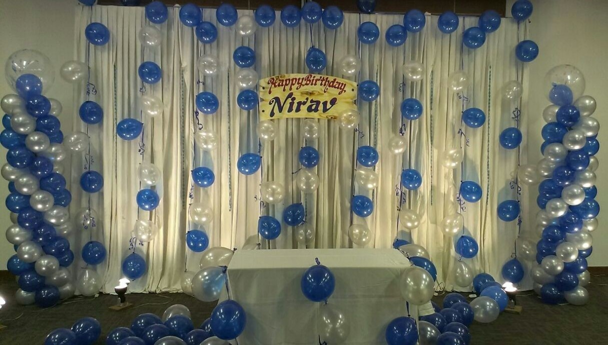 colorfull birthday party balloon decorations bangalore