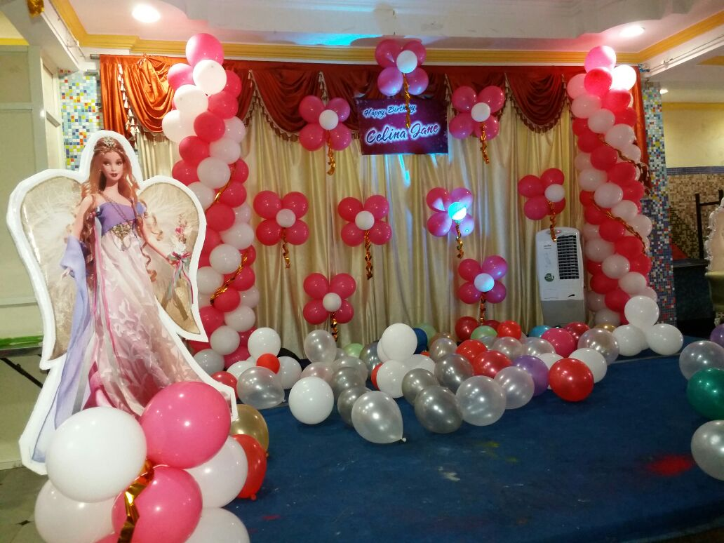 barbie theme balloon decorations bangalore