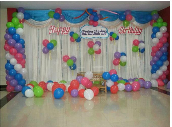 scree decoration for birthday party Hiibangalorecom