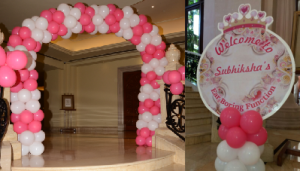 birthday party entrance decoration bangalore
