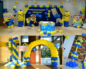 Minions theme decorations bangalore