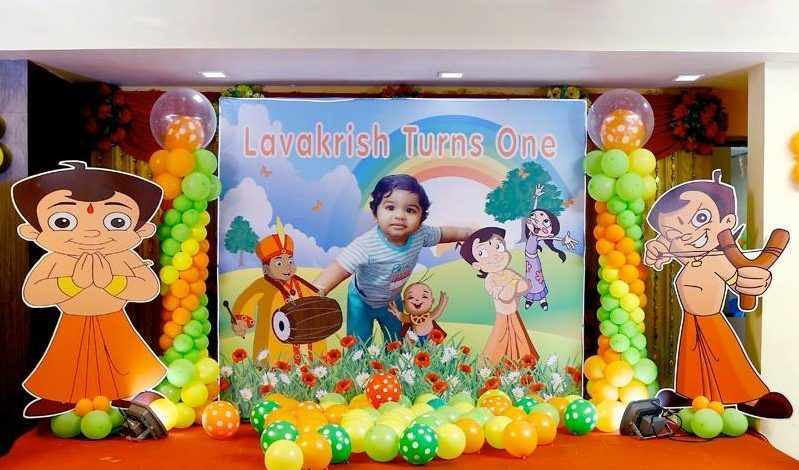 chota bheem theme birthday party