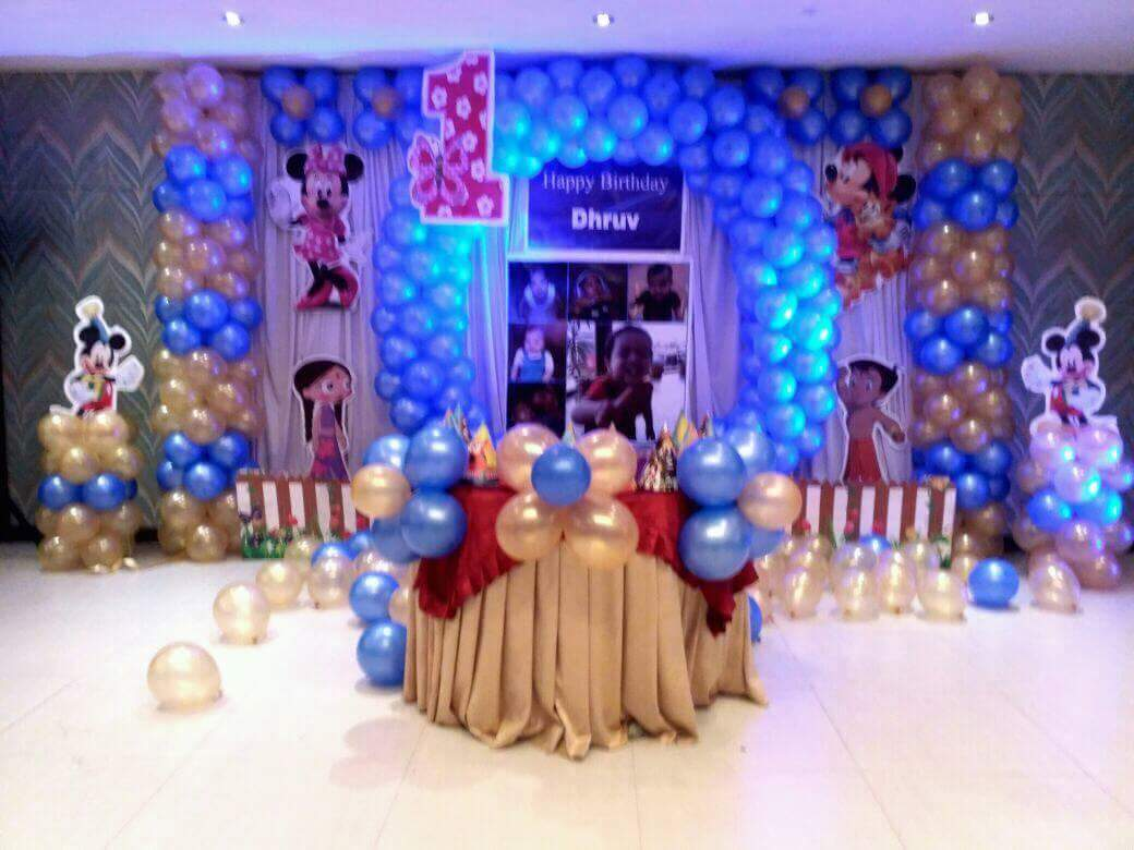 Birthday party customized theme decoration