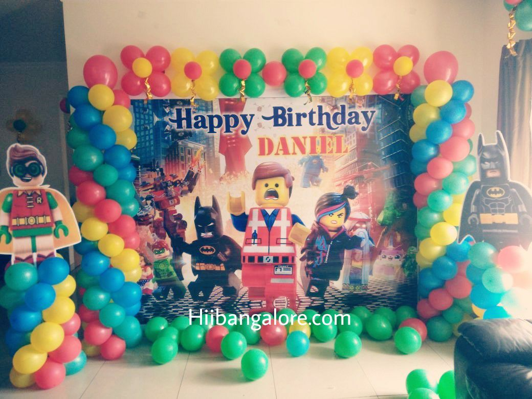 lego city birthparty decoration bangaloreday