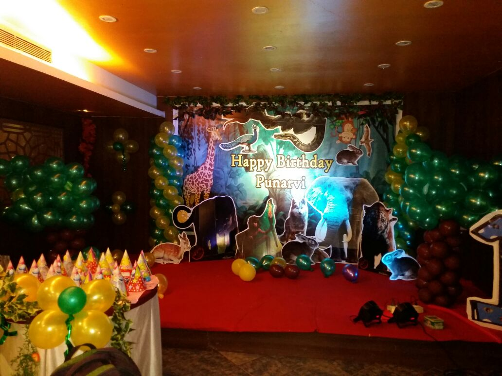 birthday party jungle book theme