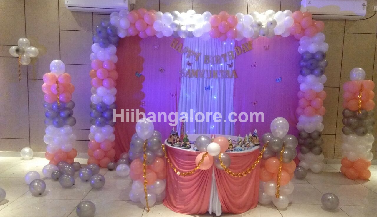 birthday party balloon decorations bangalore