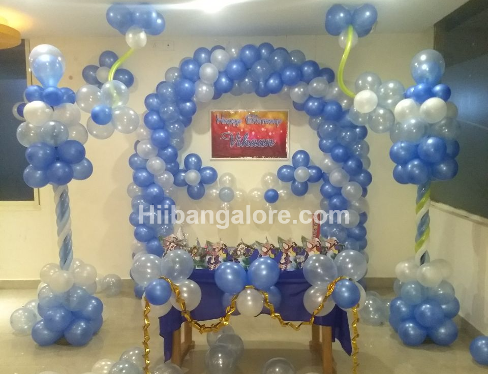 basic birthday party decoration bangalore