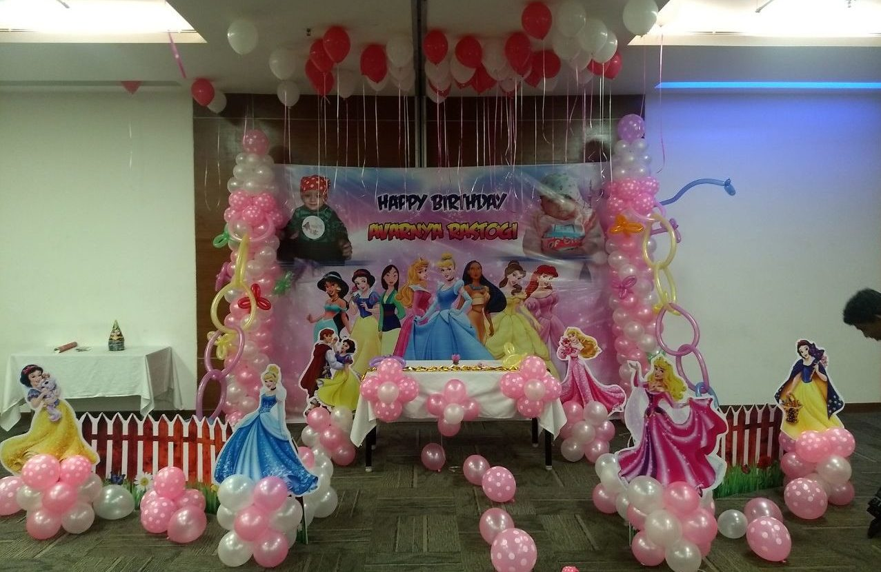 barbie princess theme birthday party