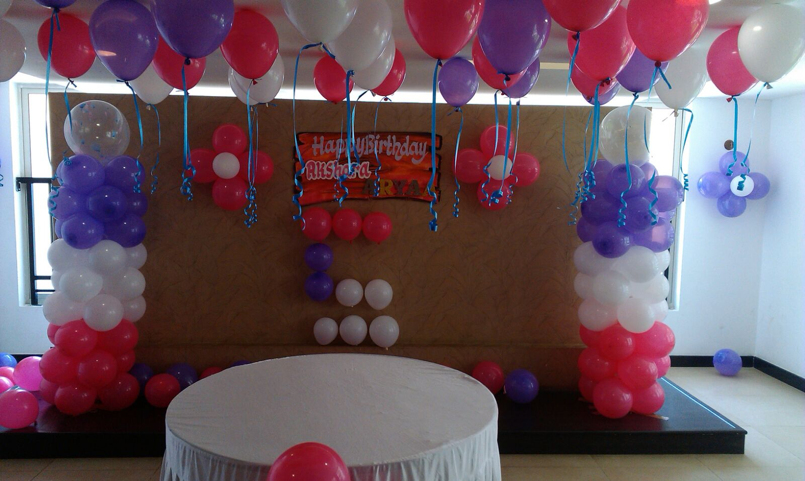 bangalore birthday decoration
