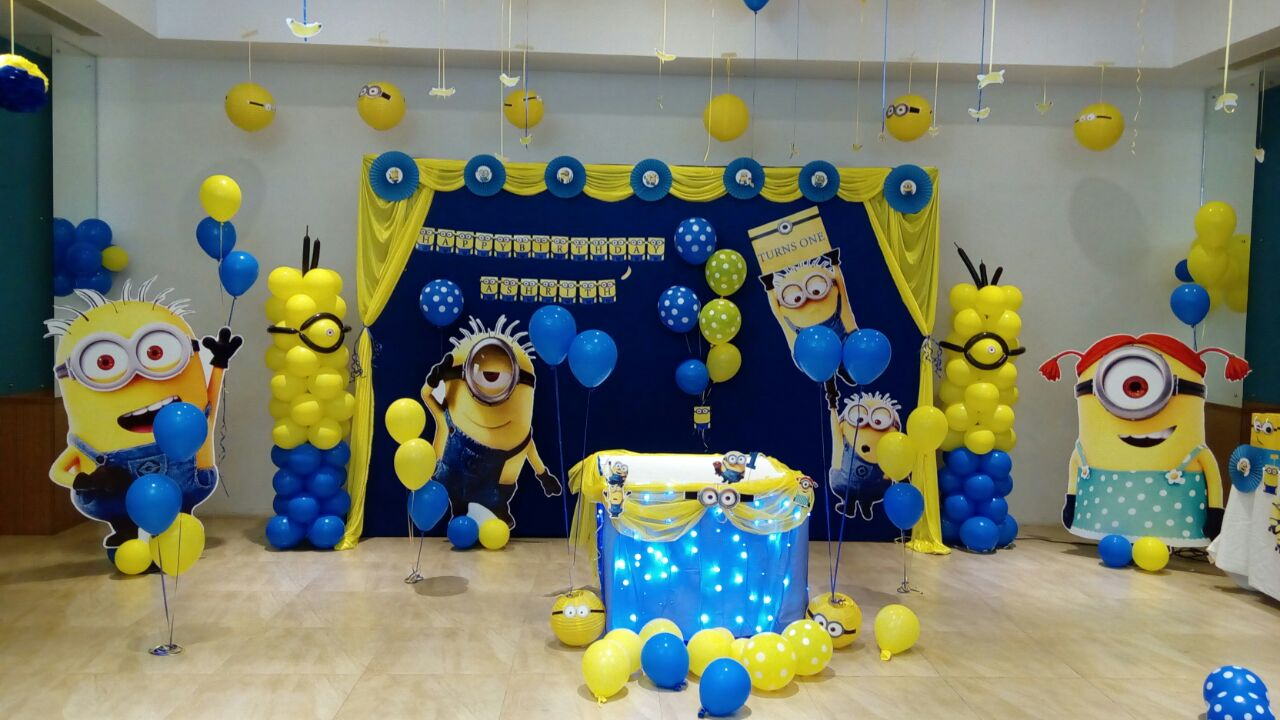 minions theme decor