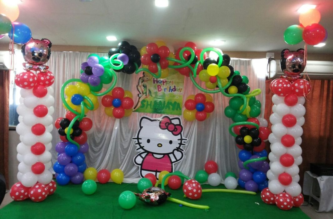 hello kitty theme decoration