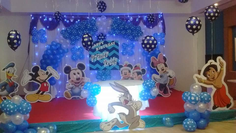 Disney theme decoration bangalore
