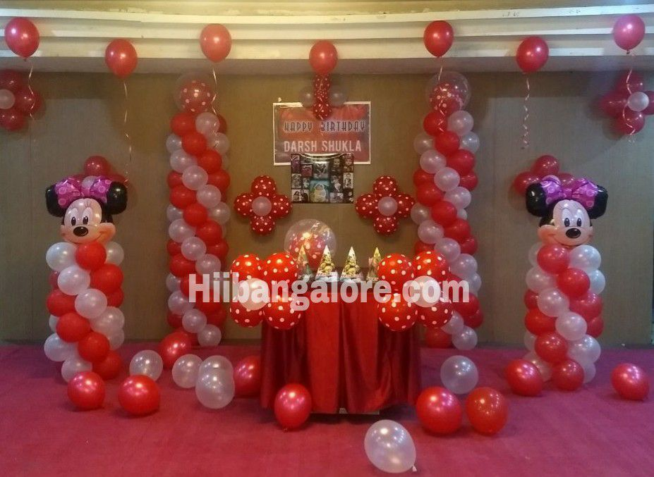 birthday party balloon decoratoion bangalore