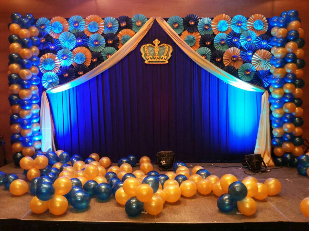 Balloon decorators in bangalore for Balloon decoration for birthday boy