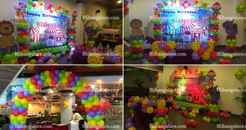 carnival theme birthday party bangalore
