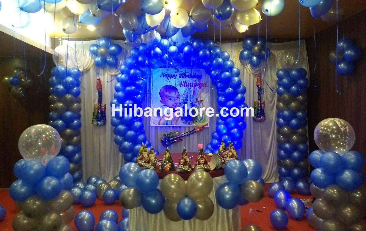 circle theme birthday decoration bangalore