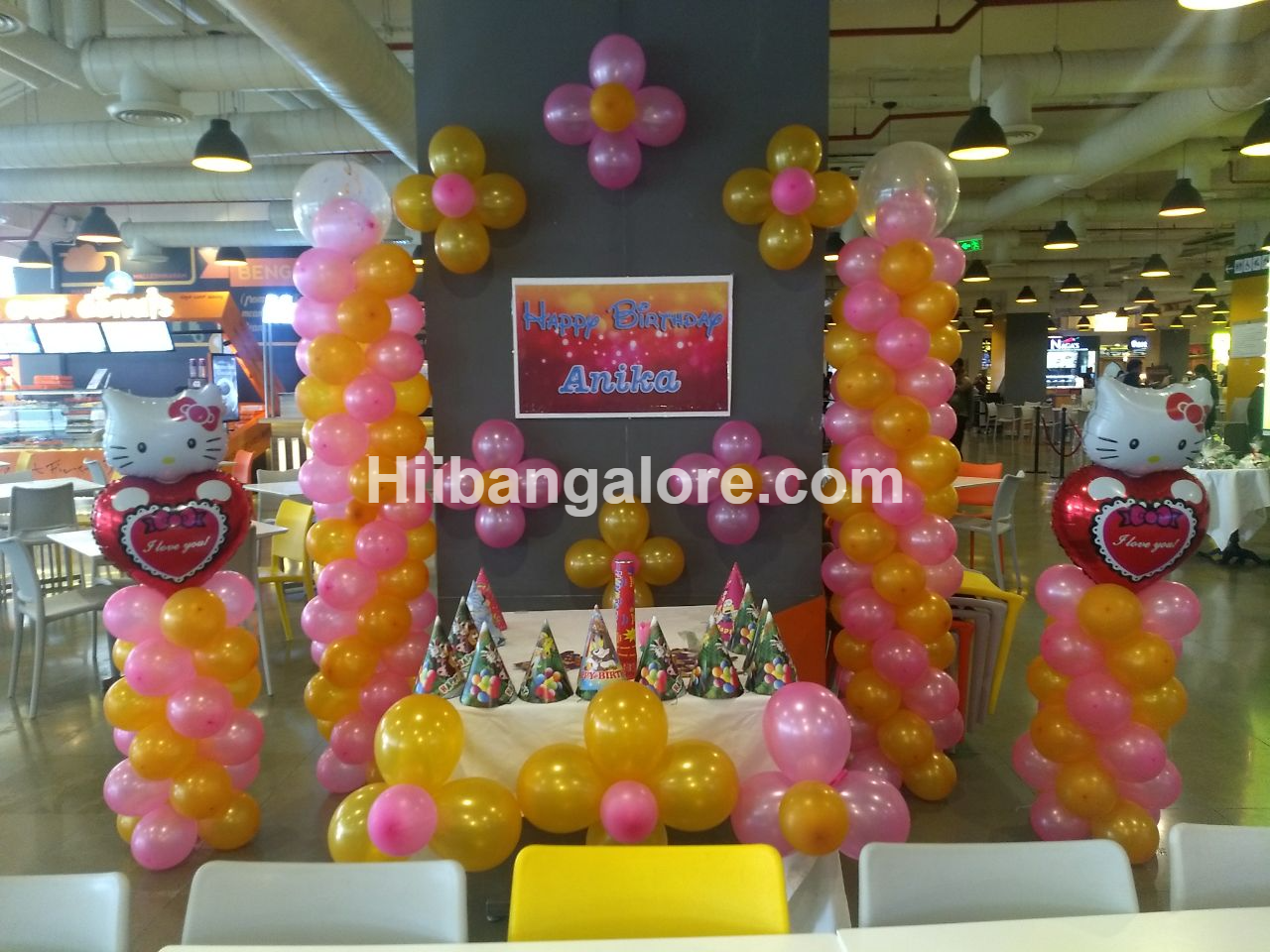 hello kitty birthday decoration bangalore