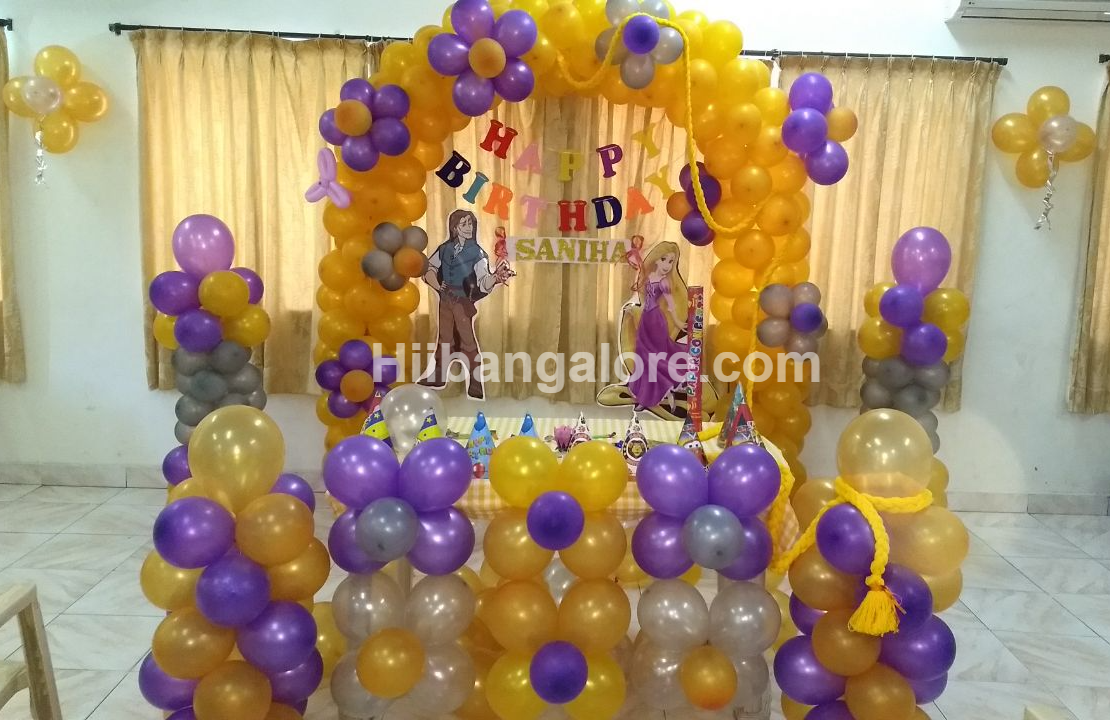 baby girl birthday decoration bangalore