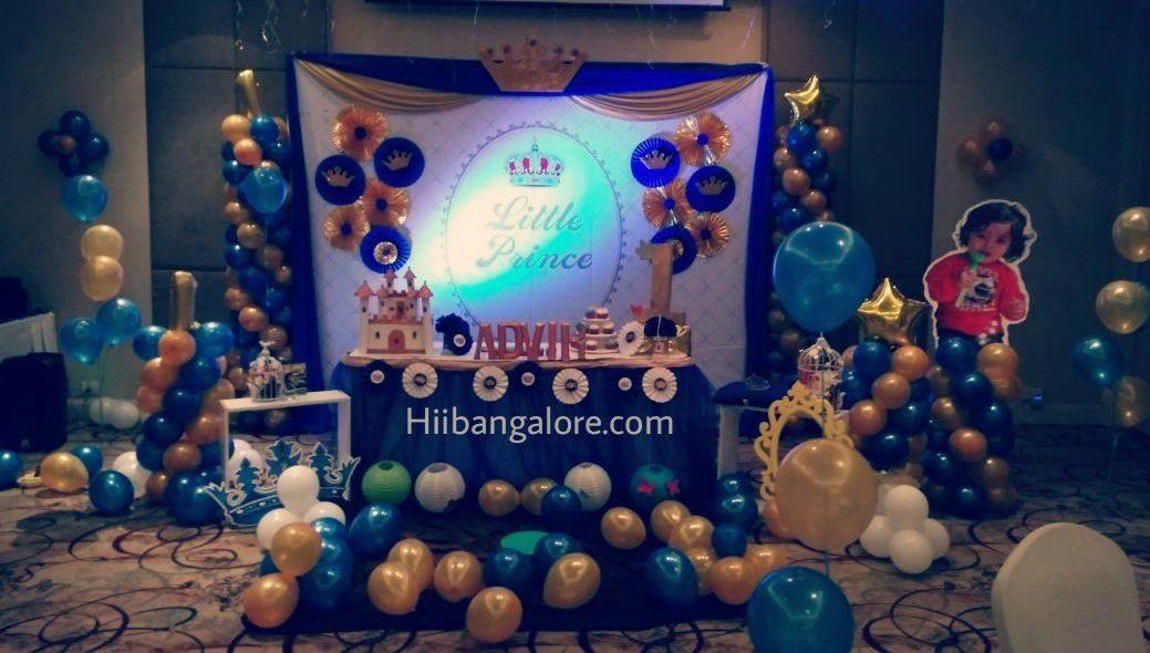 Prince theme birthday party bangalore