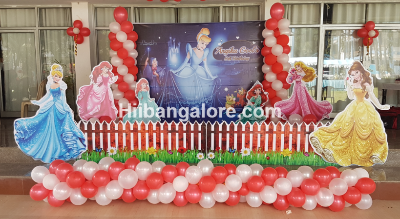 Princess theme birthday decorations bangalore