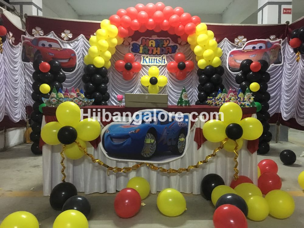 cars theme decoration bangalore