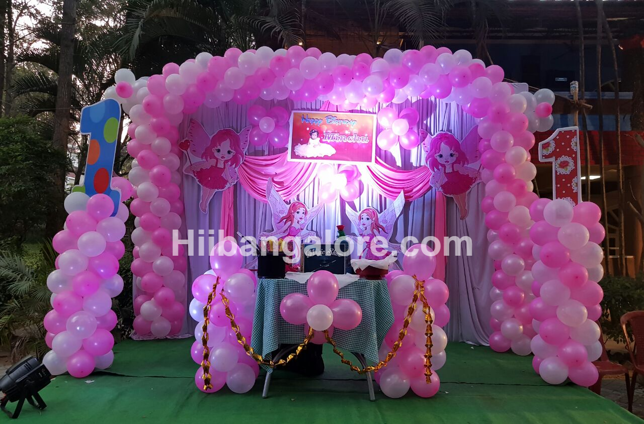 fairy theme birthday decoration bangalore