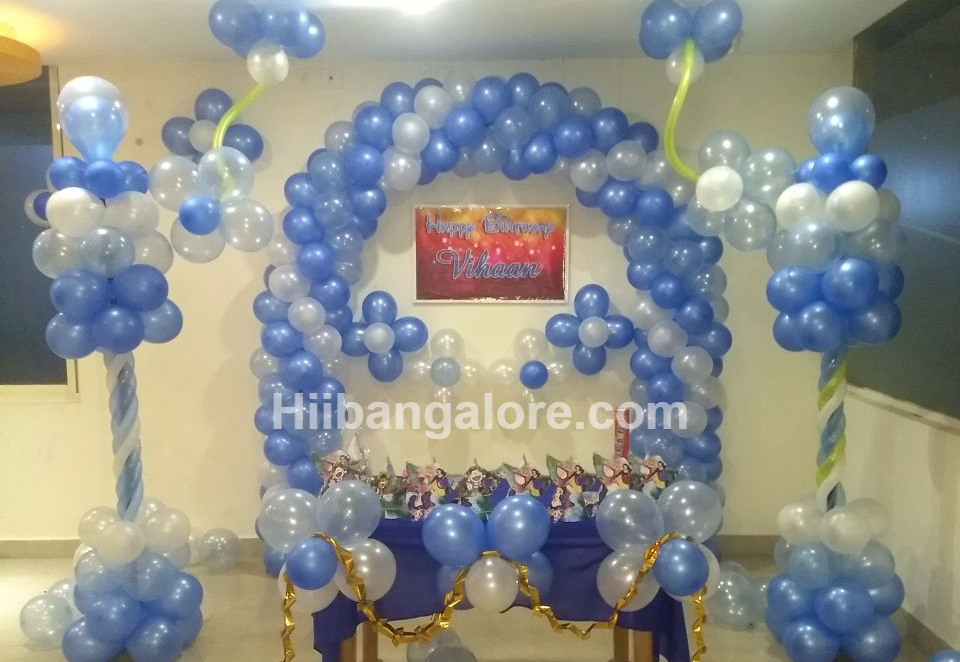 Recent parties for Balloon decoration in bangalore