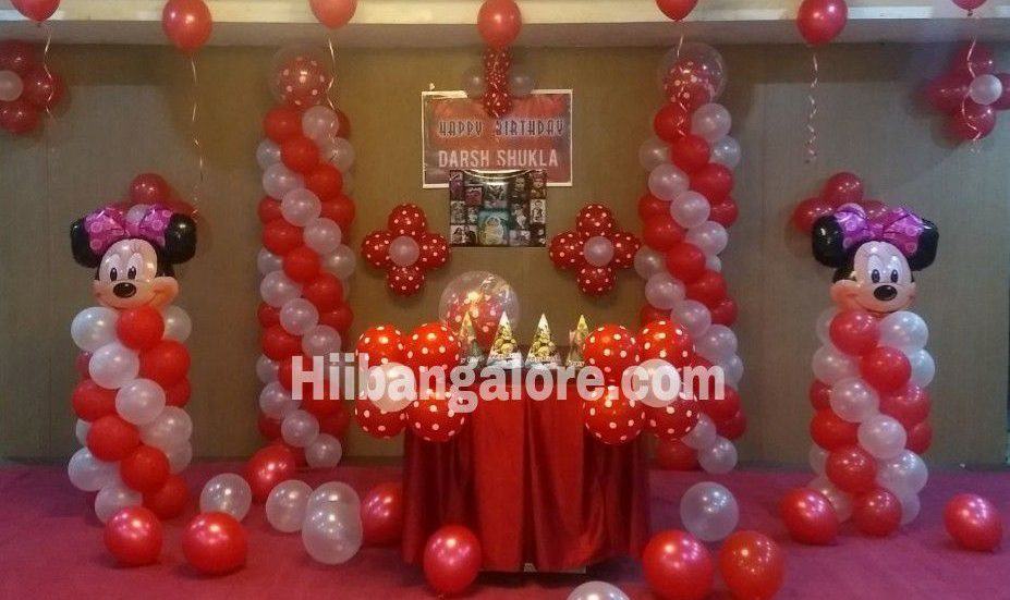 birthdya party decoration bangalore