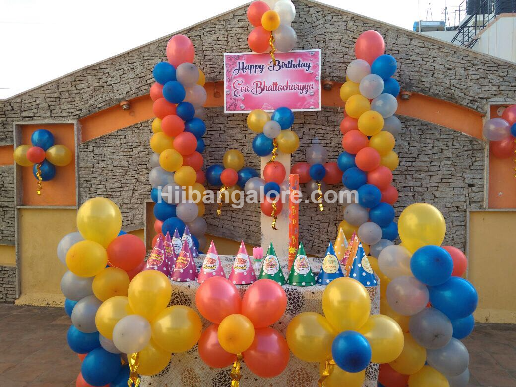 Birthday party decoration bangalore