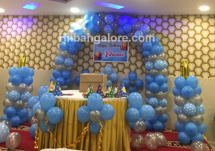 Birthday party balloon decoration bangalore