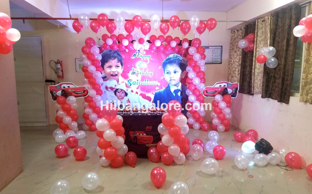 cars theme birthday party bangalore
