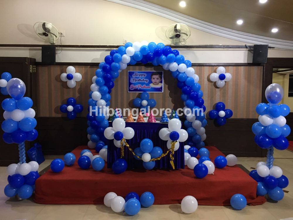 basic balloon decoration bangalore