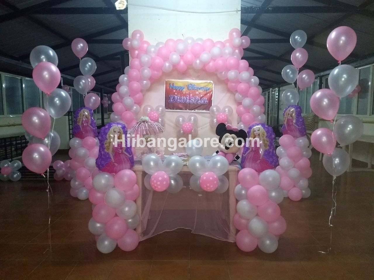 princess theme birthday decoration