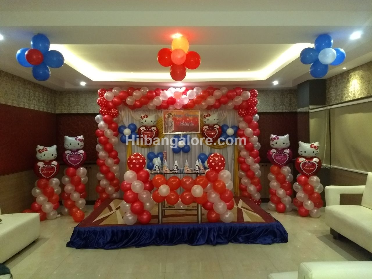 Hello kitty theme birthday party bengaluru