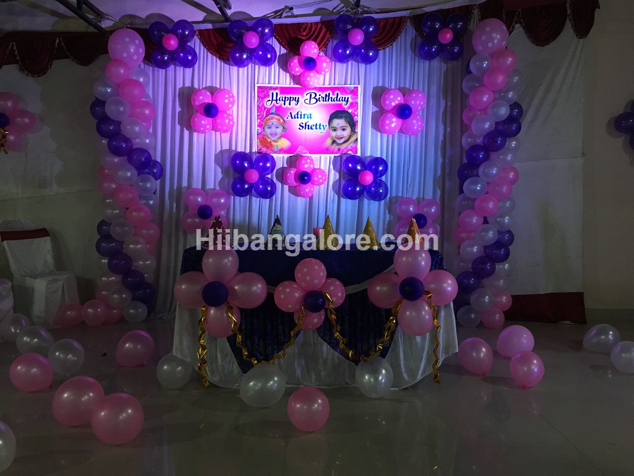 girl baby decoration bangalore