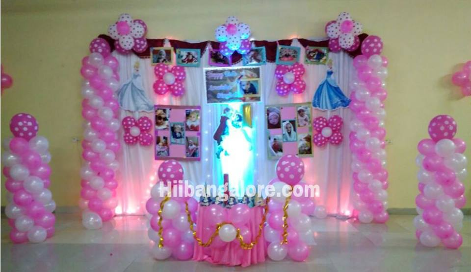 princess theme birthday party decoration bangalore