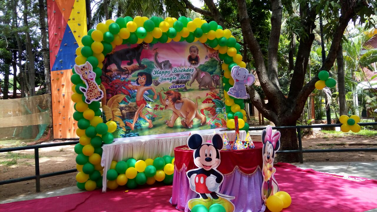 jungle book theme decoration bangalore