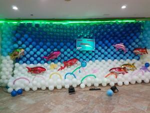under water birthday theme