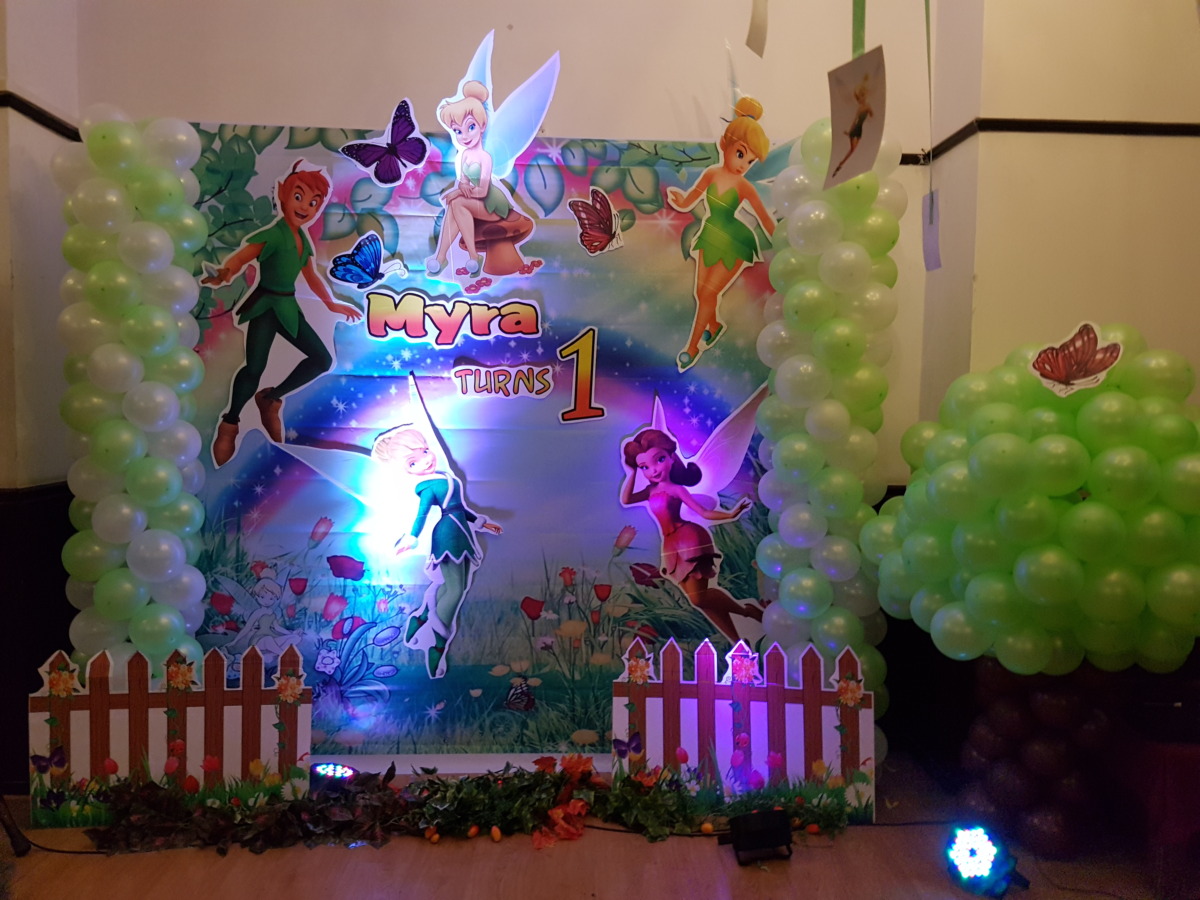 tinkerbells theme birthday party bangalore