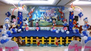 awesome mickey mouse theme birthday party bangalore