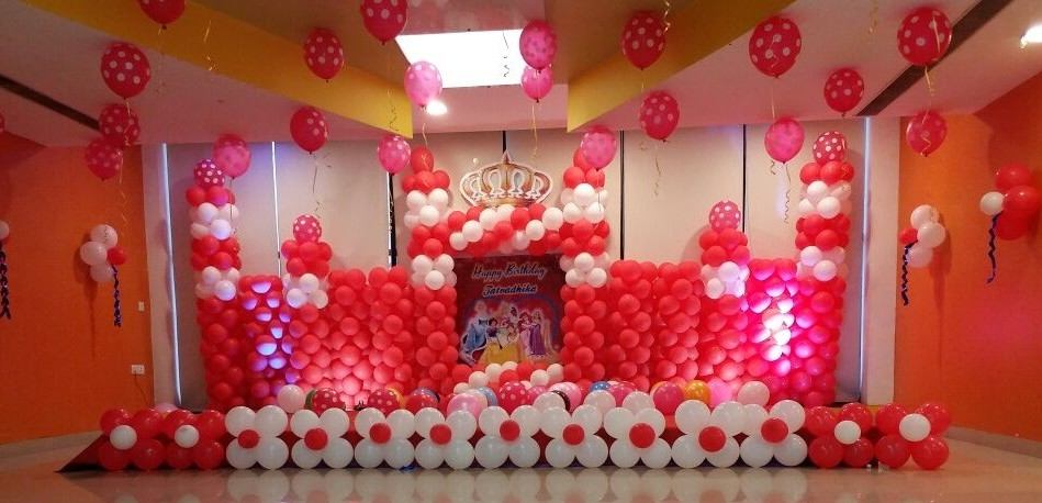 Castle theme birthday decoration bangalore