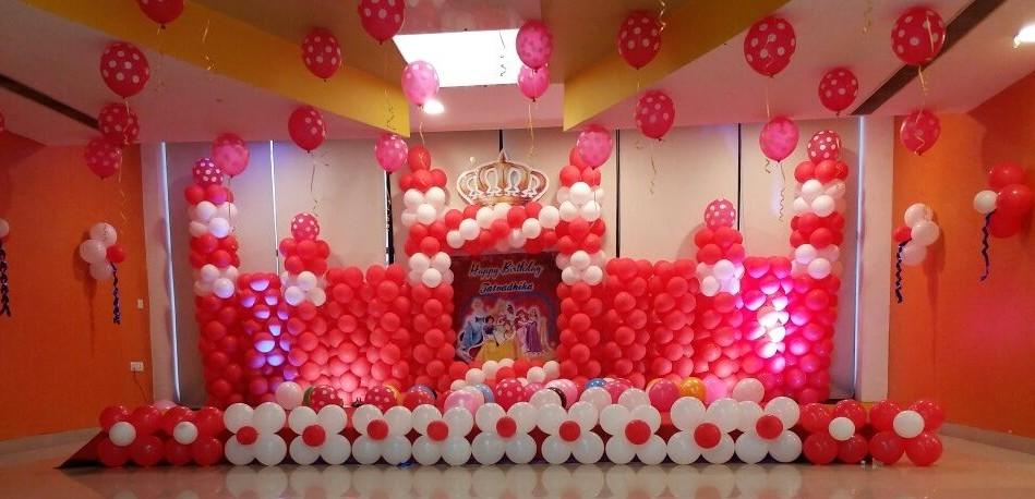 Castle theme birthday decoration bangalore